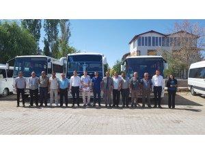 Ulaş'ta 32 öğrenci servis aracı denetlendi