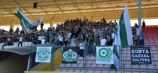1922 Konyaspor'dan taraftarlara teşekkür