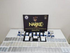 Malatya'da uyuşturucu operasyonlarında 10 tutuklama