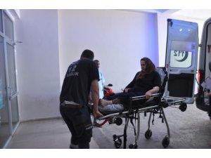 Nurdağı'nda trafik kazası: 3 yaralı