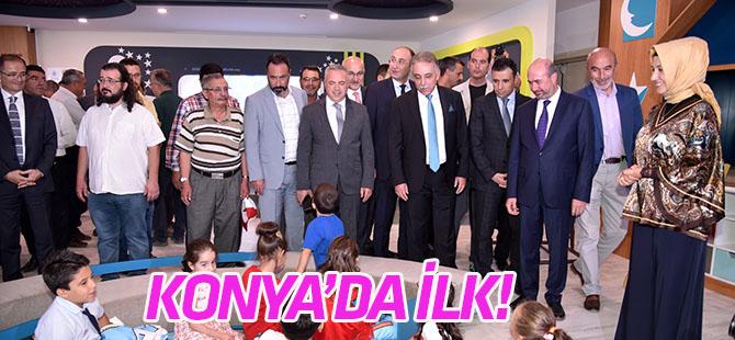 Konya'nın İlk Çocuk Kütüphanesi  açıldı