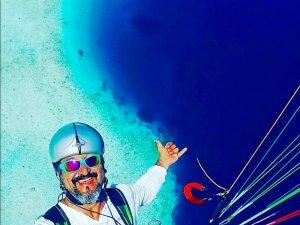 Denize düşen yamaç paraşütçüsü hayatını kaybetti