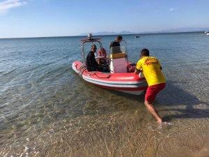 Ayvalık'ta denizde kaybolan yaşlı kadının cesedi Midilli açıklarında bulundu