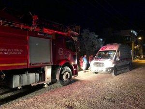 Ev yangınında bir kişi zehirlendi