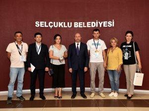 Özbekistan heyetinden Selçuklu Belediyesi'ne ziyaret