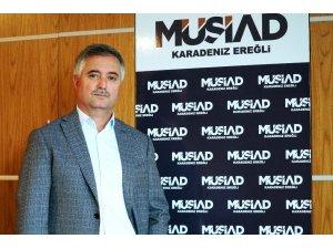 MÜSİAD Kdz. Ereğli Başkanı Çınar faiz indirim kararını değerlendirdi