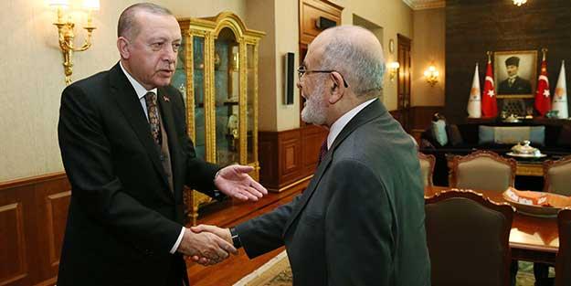 Temel Karamollaoğlu'ndan Erdoğan'a sürpriz ziyaret