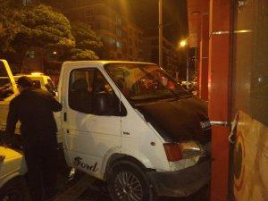 Amasya'da zincirleme trafik kazası: 4 yaralı