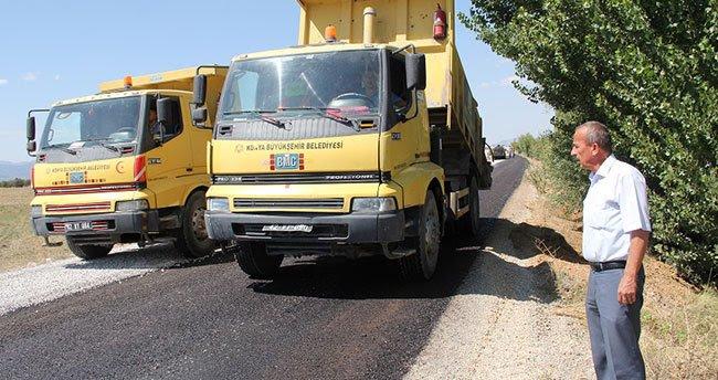 Arasöğüt Yalıhüyük bağlantı yolu asfaltlandı