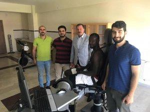 SÜ SBF Laboratuarı Konya sporunun hizmetinde