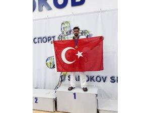 Melih Yılmaz Balkan şampiyonu oldu