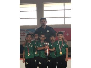 Konyaspor Cimnastikte Türkiye şampiyonu
