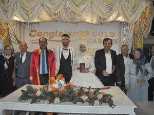 Zahide Nur ve Abdullah mutluluğa evet dediler