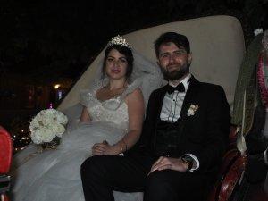 Aycan ve İsmail Serdar mutluluğa evet dediler