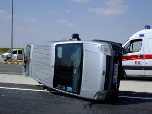Aksaray-Konya yolunda trafik kazası: 5 yaralı