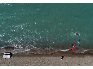 """""""Bozkırın plajları"""" deniz kıyılarını aratmıyor"""