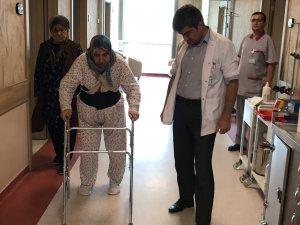 Yürüyememesi fıtıktan değil tümördenmiş
