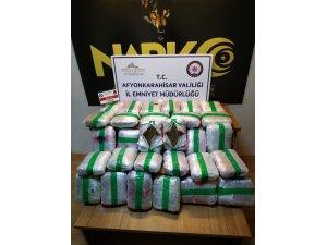 Durdurulan araçta 31 kilogram uyuşturucu ele geçirildi