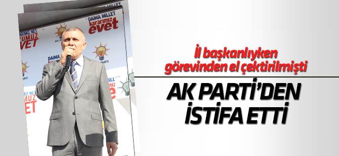 Musa Arat AK Parti'den istifa etti