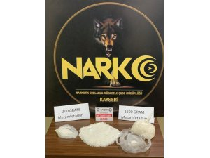 Boş arazide 1 kilo 800 gram metamfetamin bulundu