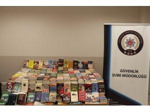 Bin 153 korsan kitap ele geçirildi