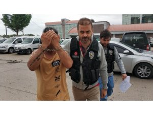 Samsun'da uyuşturucu ticareti yapan yabancı uyruklu 3 kişi gözaltına alındı