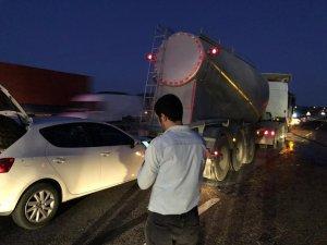Bozüyük'te zincirleme trafik kazası: 3 yaralı