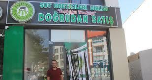 Karapınar'da süt üreticileri tüketiciye doğrudan satış mağazası açıldı