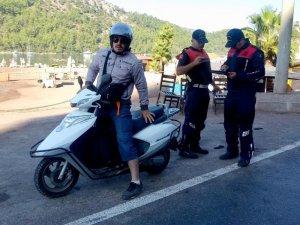 Muğla Jandarmasının 'Motosiklet' denetimleri sürüyor