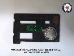 ATM tuzaklayan iki şahıs tutuklandı