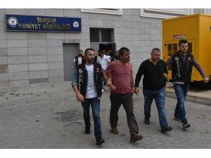 GÜNCELLEME - Samsun'da aranan zanlılara yönelik operasyon