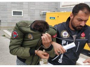 Samsun'da uyuşturucu hapla yakalanan şahıs tutuklandı