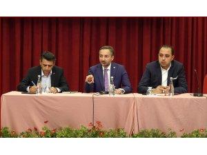 """Elazığ TSO Başkanı Aslan,""""İnsan kaynağımız ve yatırımlar anlamında potansiyelimiz var"""""""