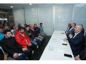 """Başkan Büyükgöz, """"Halk Meclisi""""nde müjdeyi verdi"""