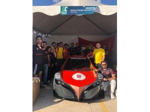"""KTÜN """"E-Babil"""" İsimli Elektromobil aracı ile birinci oldu"""