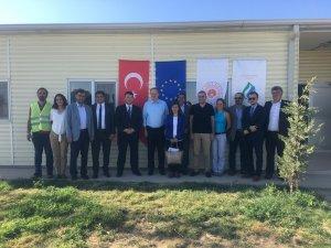 Konya Katı Atık Yönetimi Projesi saha ziyareti