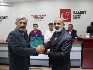 Milletvekili İslam, Saadetlilerle buluştu