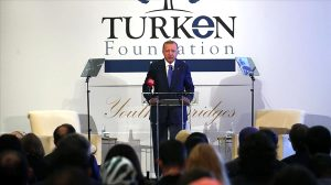Cumhurbaşkanı Erdoğan, TÜRKEN Vakfının yemeğine katıldı