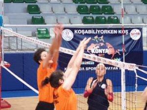 Konya temsilcileri hazırlık maçı yaptı