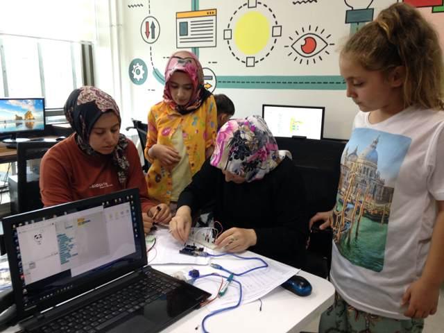 M. Ali Özbuğday Gençlik Merkezi Atölyelerinde kayıtlar başladı