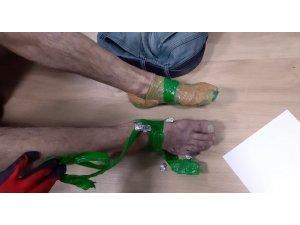 Ayakkabısından uyuşturucu çıkan şahıs tutuklandı
