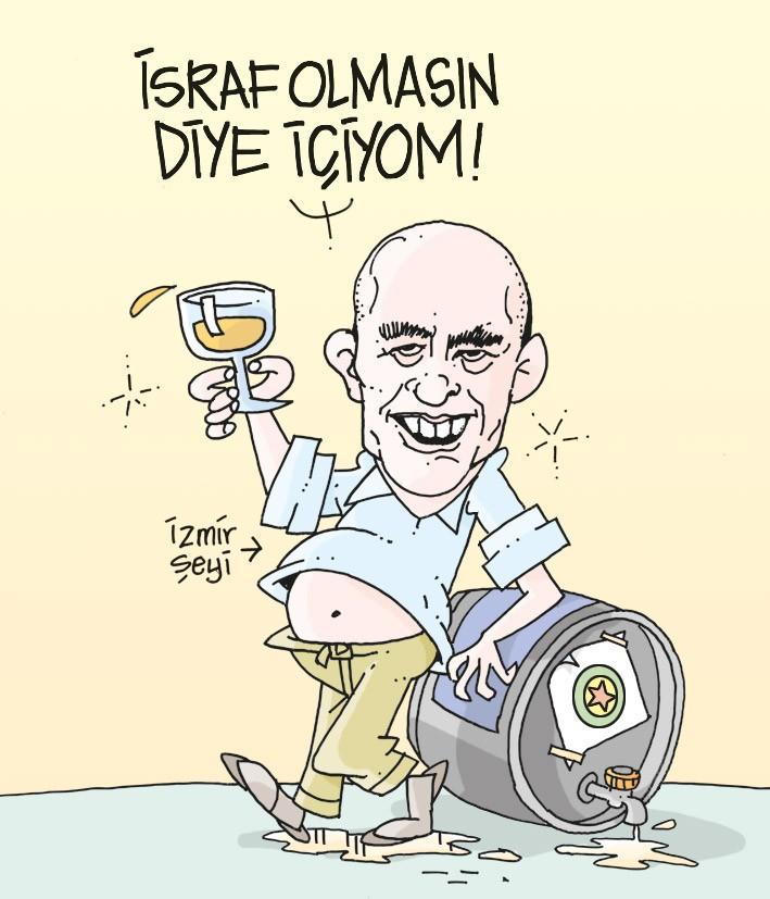 İzmir Büyükşehir Belediyesi 4 yılda 250 bin TL'lik şarap almış!