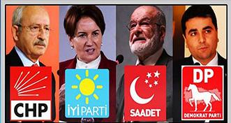 Başkent külislerinde ayyuka çıkan iddia: 'İYİ Parti ve Saadet Millet İttifakı'nı terkediyor'