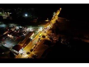 Organize suç örgütüne drone ile operasyon