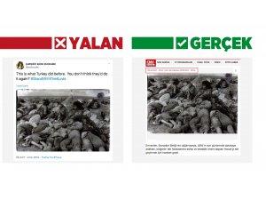 """Bu tiyatroyu görmüştük! Terör örgütü yanlılarından """"Barış Pınarı Harekatı"""" manipülasyonu"""