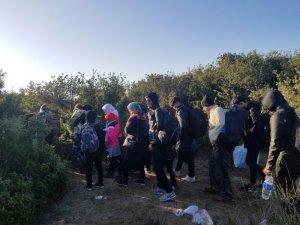 Çanakkale'de 38 mülteci yakalandı