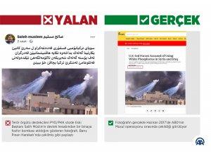 """Barış Pınarı Harekatı'nda """"fosfor bombası kullanıldı"""" dezenformasyonu"""