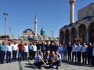 33 yıl sonra Konya'da bir araya geldiler