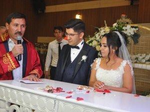 Seda ile Mehmet Alp evlendi