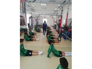Akademide Cimnastik eğitimi